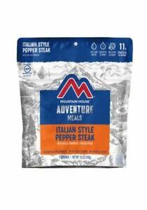 6 - Italian Style Pepper Steak - Mountain House Freeze Dried Pouches