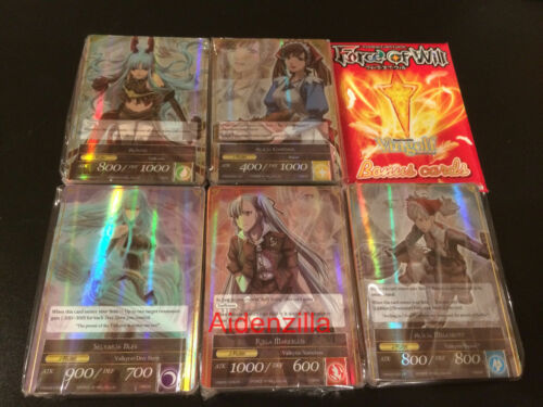 Force of Will TRADING CARD GAME FOW Battle for attoractia Booster Box sans Boîte Vingolf 2 Set