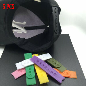 NEW-Snapback-Hat-Cap-Plastic-Replacement-Repair-Snap-Buckle-Strap-Pick-5PCS