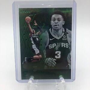 2019-20-Panini-Chronicles-Keldon-Johnson-Green-Essentials-Rookie-RC-213-Spurs