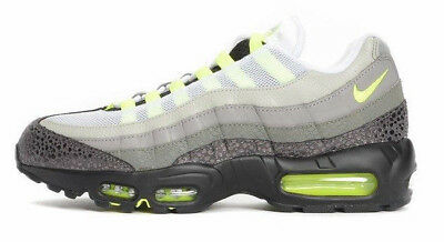 SAMPLE NIKE AIRMAX 95 PREMIUM OG ANIMAL SAFARI 9 NEON VOLT GREY 759986 071 ATMOS | eBay