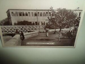 CAIRO-Kasr-El-Nil-Barracks-No-8-Vintage-Real-Photo-Postcard-B2504