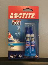Loctite Super Glue Gel Two 2 Gram Tubes 2 Pack
