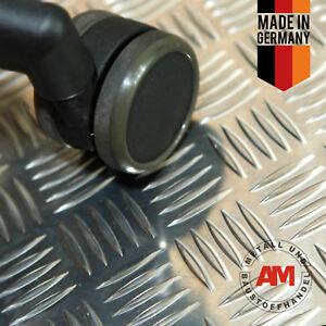 Alu Damier Quintette 500x500 2,5/4,0 Aluminium Tôle Larmes Tôle Verrues Tôle-afficher Le Titre D'origine