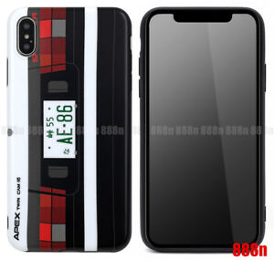 buy online 3083c 4fdc0 Details about Initial D AE86 Tail Lights Phone Case For Apple iPhone XS Max  XR X 8 7 Plus 6 6S