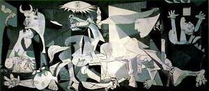 PICASSO-1955-LITHOGRAPH-COA-RARE-ART-Pablo-Picasso-best-ever-work-GUERNICA
