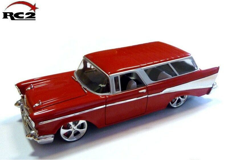ERTL COLLECTIBLES 1 24 AUTO DIE CAST CHEVY NOMAD 1957 RED  ART. 37294A