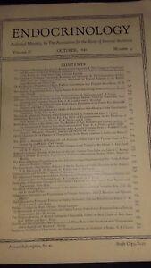 Rivista Endocrinologia I Notiziario Of I Associazione FOR.VOL.27 1940 N°4