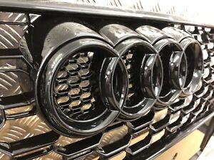 Audi-Black-Badge-Ring-Logo-Emblem-For-Grille-Audi-Q3-Q5-Q7-A4-A6-285x100mm