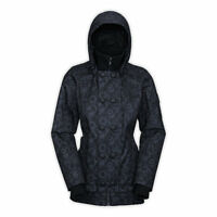 Women's North Face Black Insulated Blossom Jacket M $329