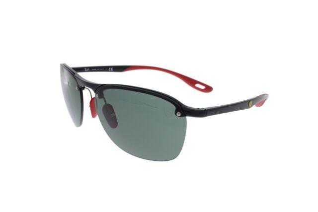 2085b801469 Ray-Ban Scuderia Ferrari Collection Black Red   Green Rb4302m F60171 ...