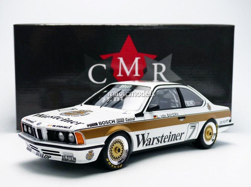 CMR BMW 635 CSI DPM 1984 Warsteiner Von Bayern in 1 18 Scale. New
