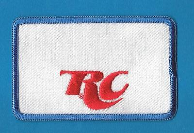 Vintage Embroidered RC  Royal Crown Cola Patch 1970/'s
