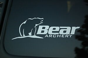 Bear Archery Vinyl Sticker Decal V Bow Hunting Hunt Hunter - Bow hunting decals for trucks