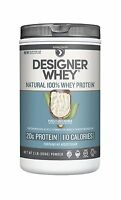 Designer Whey Natural Protein Purely Unflavored 2 Pound 2lb Free Shipping