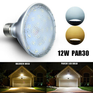 12W-PAR30-Reflector-LED-Lamp-E27-Base-Screw-Floodlight-Bulb-for-Outdoor-Lighting