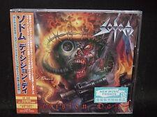 SODOM Decision Day + 1 JAPAN CD + DVD Onkel Tom Angelripper Dezperadoz Everflow