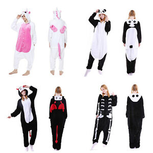 Image is loading Women-Adult-Kigurumi-Pajamas-One-Piece-Cosplay-Costume- 435df0f09a