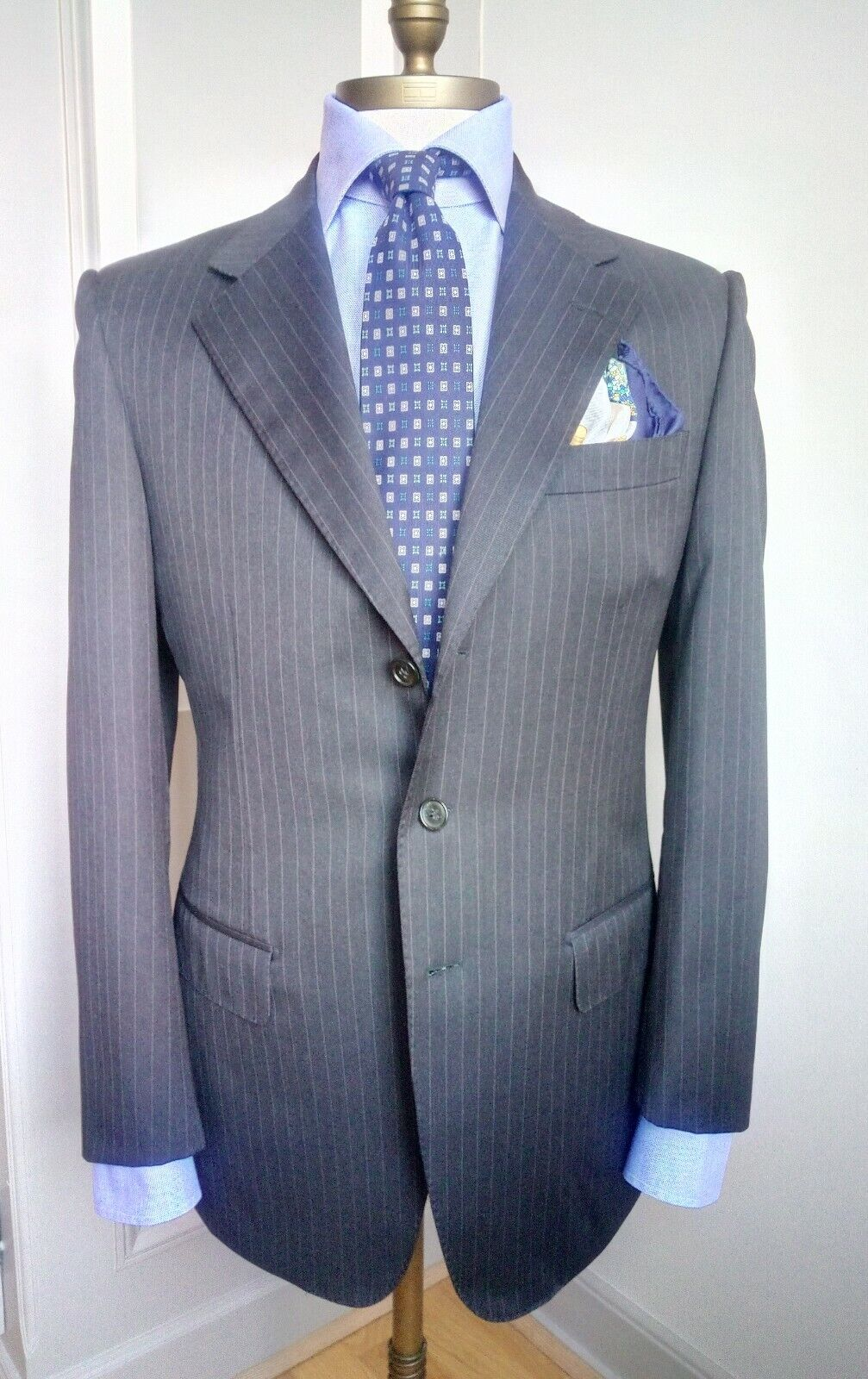 Ravazzolo charcoal virgin wool suit - Size 48 50