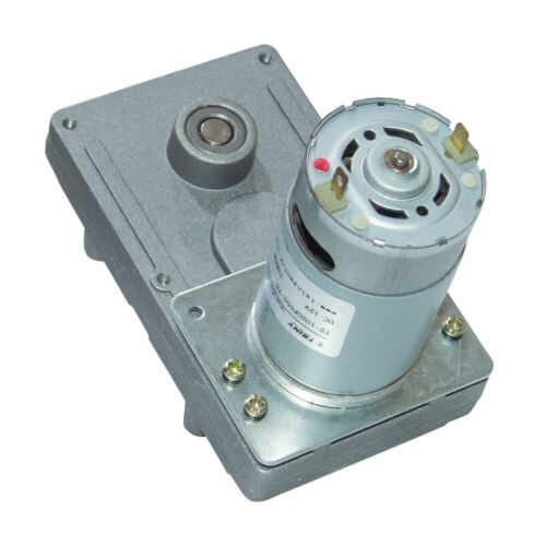 DC Electric High Torque Rectangle Gear Motor 12V 24V with High Quality Gearbox