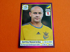 415 NAZARENKO TAVRIYA SIMFEROPOL UKRAJINA FOOTBALL PANINI UEFA EURO 2012