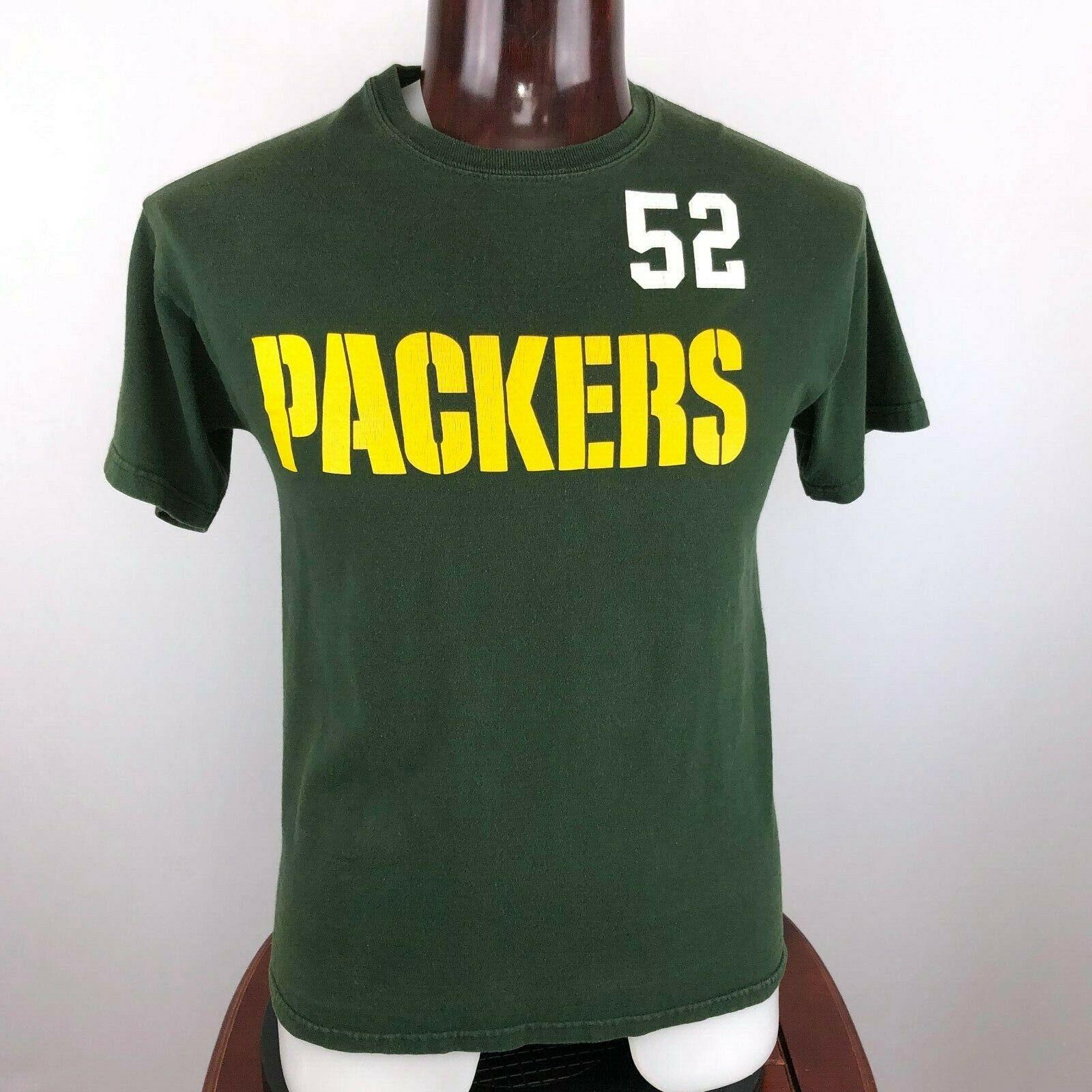 Green Bay Packers Clay Matthews #52 Mens Graphic T Shir