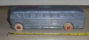 Bus coach  National Trailways ACF Brill 1940s heavy metal bus bank