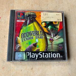 Jeu PS1 : OddWorld, l'exode d'Abe  - Playstation 1