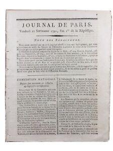 Naissance-Convention-Nationale-septembre1792-Republique-Francaise-Danton-Brissot