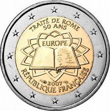 Francia  2€ 2007 Trattato di Roma  ToR FDC