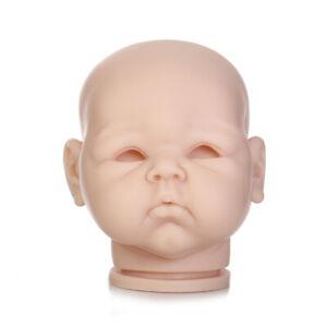 DIY Reborn Kits Soft Vinyl Head Limbs for Realistic Lifelike 28/'/' Toddler Doll