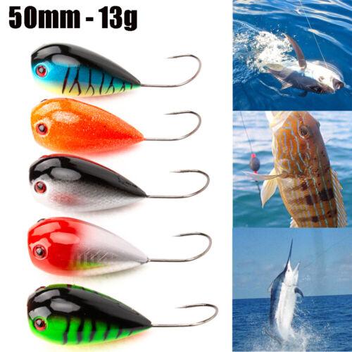 Artificial 50mm 13g Fishing Lure  Crank Bait Floating EGG Bait  Single Hook