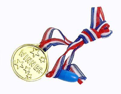Children Gold Winners Plastic Medals Kids Party Game Toys Prizes Awards