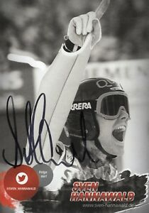 original handsignierte Autogrammkarte Sven Hannawa...
