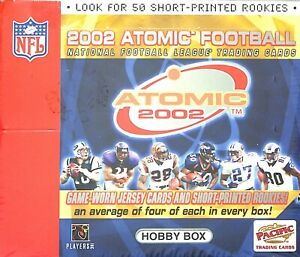 2002 Pacific Atomic Football Sealed Hobby Box Ebay