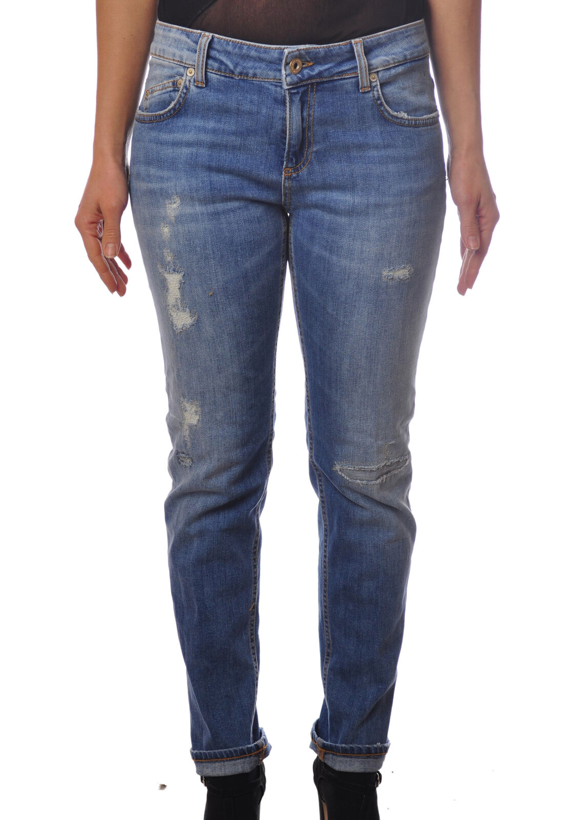 Dondup - Jeans-Pants-slim fit - Woman - Denim - 4985831G180942