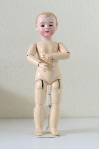 Gebrüder Heubach 28 Cm 11,2 Inch Poupée Ancienne Reproduction Antique Doll