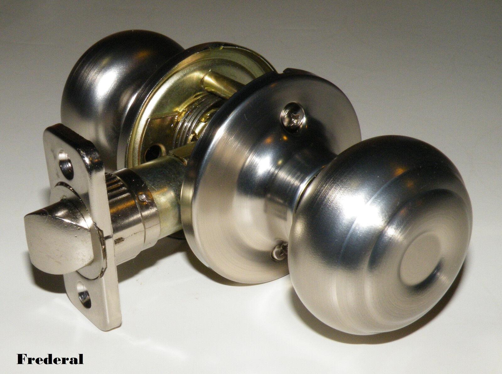 Pro satin nickel passage interior closet hallway door knob - Satin nickel interior door knobs ...