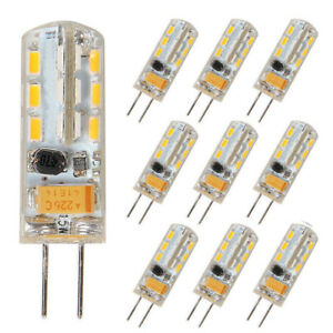 10x-3W-G4-LED-Lampe-Stiftsockel-Leuchtmittel-Birne-Warmweiss-DC-AC-12V-2835Chips