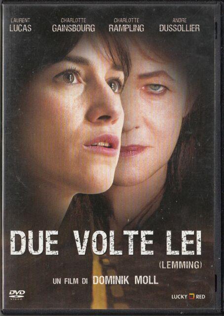 DUE VOLTE LEI - Lemming (2005) DVD - EX NOLEGGIO