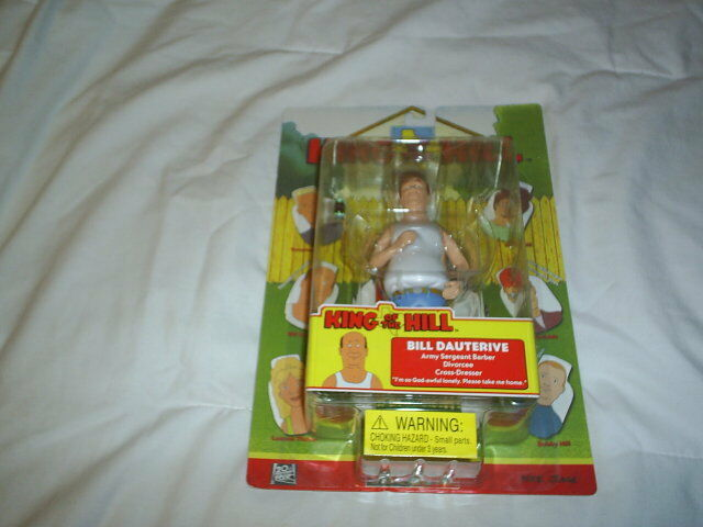 Bill Dauterive Hill King Of The Hill Toycom Mike Judge Action Figure