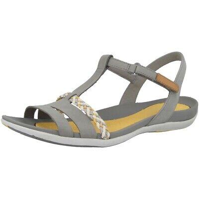 Clarks Tealite Grace Sandalo Da Donna In Pelle Tempo Libero Sandali Grey 26142360- Tecniche Moderne