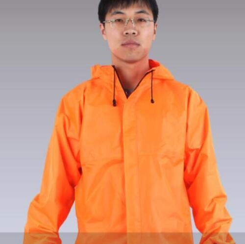 2018 Men/'s Raincoat Waterproof Fashion Loose Overalls Jacket Outwear Coat  New