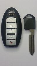 2013-2015 OEM Nissan Altima Smart Keyless Entry Remote w/ Insert Emergency Key