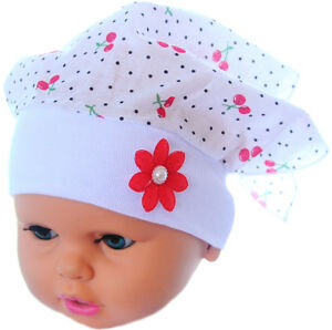Accessoires Kleidung, Schuhe & Accessoires Logisch Baby Kopftuch Kopfbedeckung Kinder Mütze Stirnband Haarschmuck Ku 35-43cm.