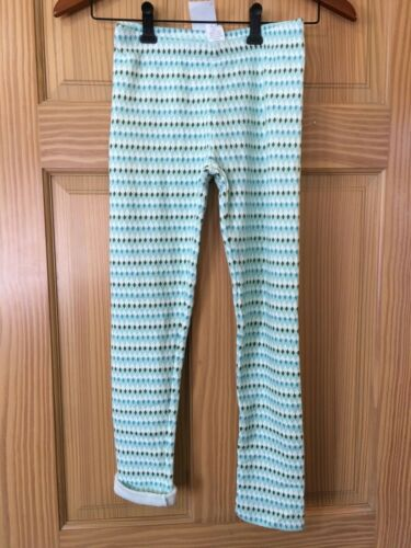NWT Gymboree Cozy Green Blue Diamond Leggings Girls Outlet