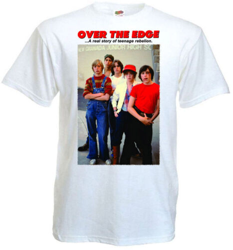 5XL Over The Edge Ver 1 T-shirt blanc Movie Poster toutes tailles S...