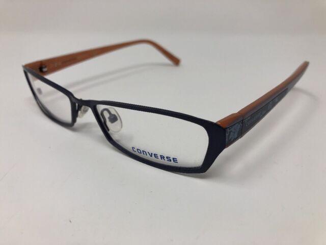 d63ce0648c79 NEW! Converse STYLUS Eyeglass Frames STONEWASH 52 15 135 Flex Hinge Navy  5138