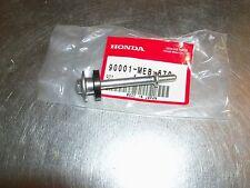 New Honda CRF450 TRX450R CRF450X TRX450ER 450R engine valve cover bolt and seal