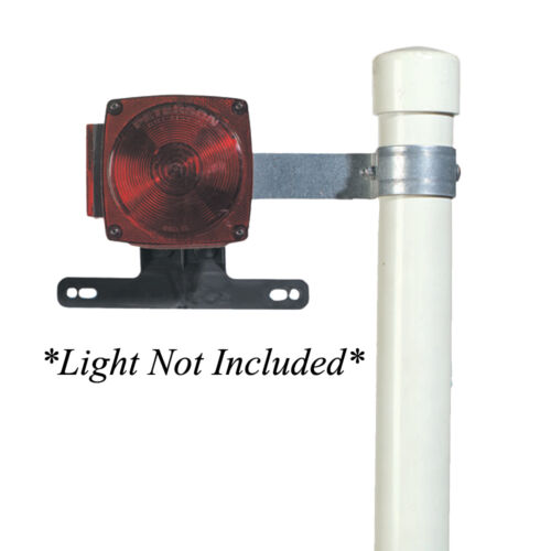 CE Smith Tail Light Lamp Brackets PAIR for Boat Trailer Post Style Guide-Ons